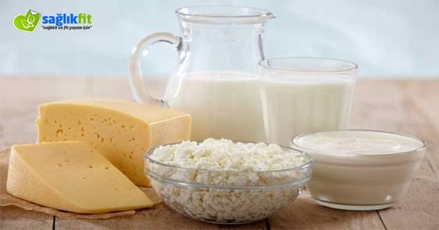 Şekere Faydalı Süt Ürünleri