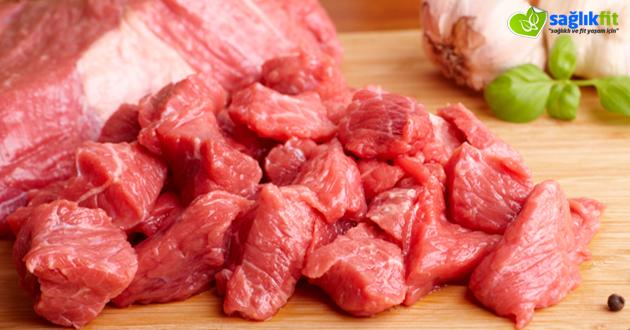 Kırmızı etin faydaları zararları