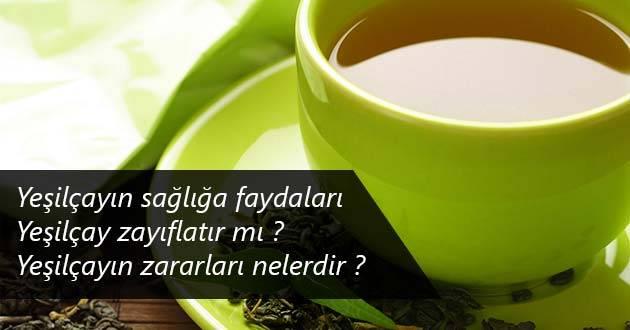 Yeşil Çayın Sağlığa Faydaları Nelerdir?