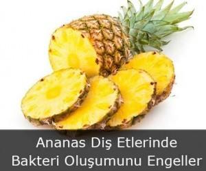 Ananas Diş Etlerinde Bakteri Oluşumunu Engeller