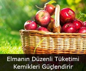 Elmanın Düzenli Tüketimi Kemikleri Güçlendirir
