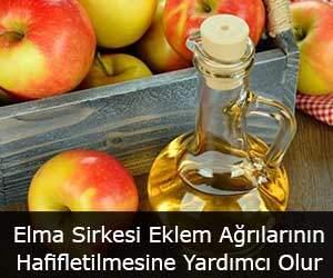 Elma Sirkesi Eklem Ağrılarının Hafifletilmesine Yardımcı Olur