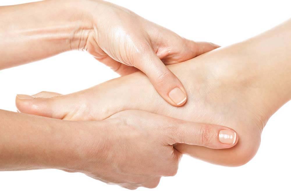 Ayak Ağrısının Masajla Tedavisi