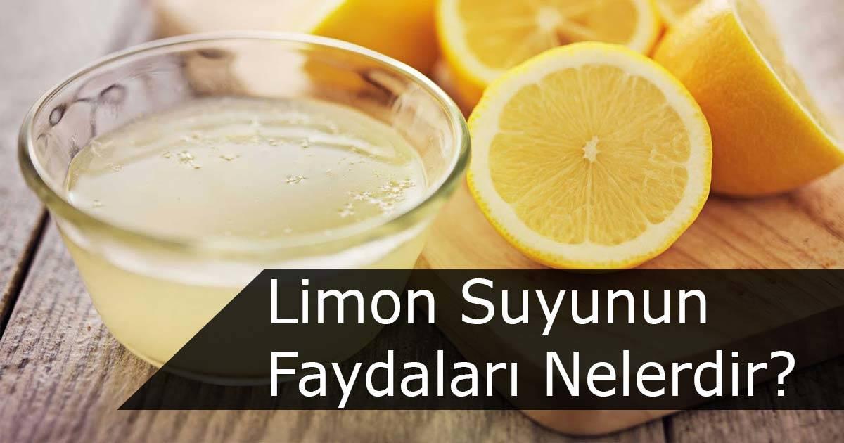 Limon Suyunun Sağlığa Faydaları