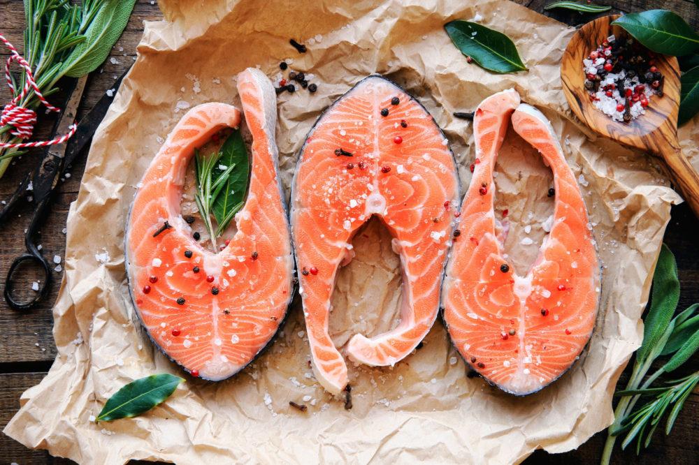 Deniz ürünlerinde protein bakımından zengin gıdalar
