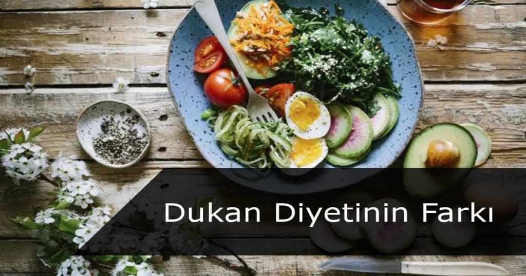 Dukan diyetinin farkı